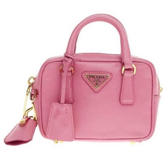 2d7272b8e5b6a5 Prada Bags | Two Way Mini Lux Saffiano | Poshmark
